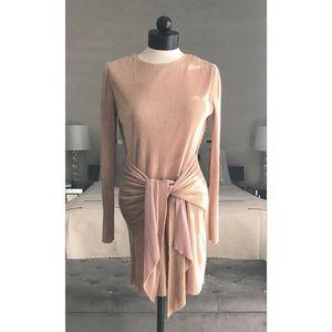 AKIRA Metallic Dress